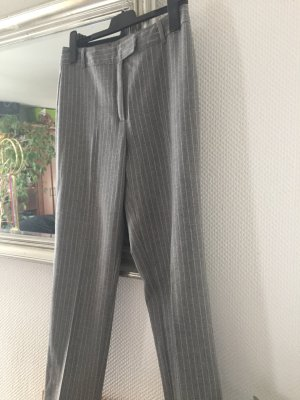 Benetton Pantalone di lana grigio-grigio chiaro