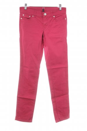 Benetton Low-Rise Trousers dark red simple style