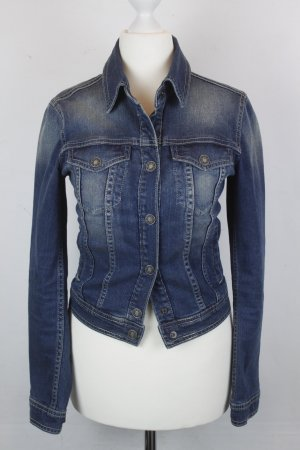United Colors of Benetton Denim Jacket blue cotton