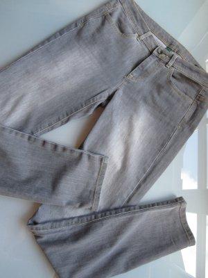 Benetton Jeans grau slim
