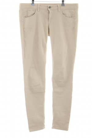 Benetton Jeans Low-Rise Trousers cream casual look