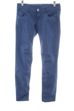 Benetton Jeans Jeggings blau Casual-Look