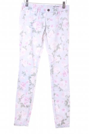 Benetton Jeans Jeggings estampado floral look casual