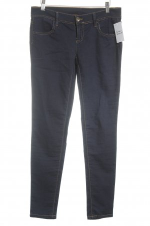 Benetton Jeans Jeggings blu scuro stile semplice