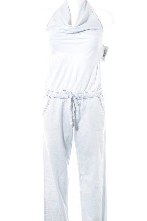Benetton Jeans Jumpsuit hellblau-blassblau Casual-Look