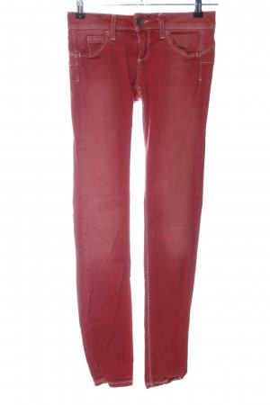 Benetton Jeans Skinny Jeans rot Casual-Look