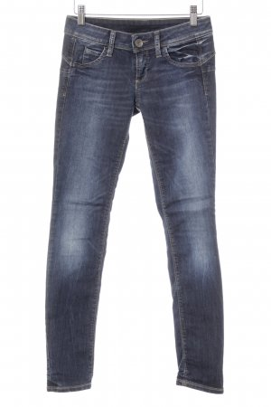 Benetton Jeans Skinny jeans donkerblauw casual uitstraling