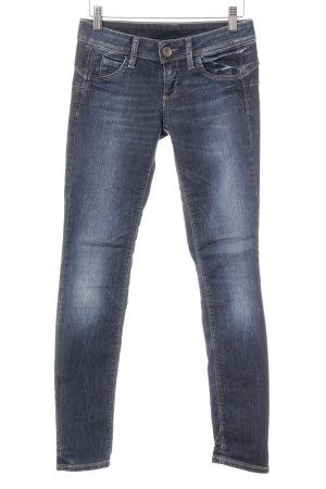 Benetton Jeans Skinny Jeans dunkelblau Casual-Look