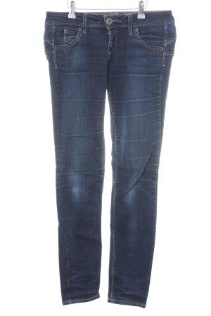 Benetton Jeans Skinny Jeans blau Casual-Look