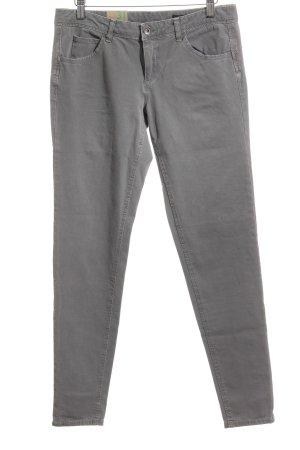 Benetton Jeans Skinny Jeans grau Casual-Look