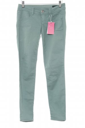 Benetton Jeans Skinny Jeans sage green casual look