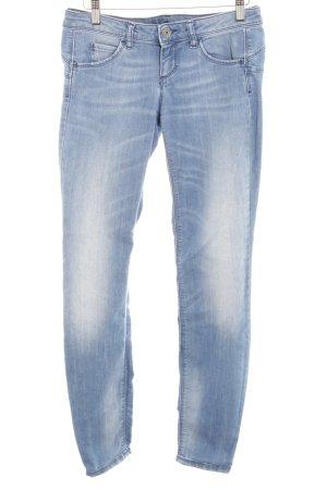 Benetton Jeans Skinny Jeans kornblumenblau Casual-Look