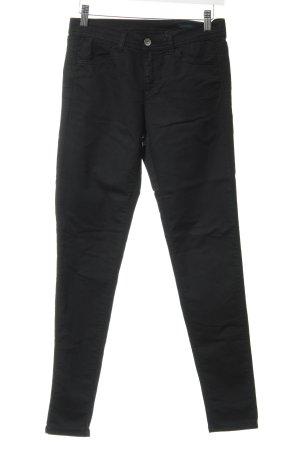 Benetton Jeans Skinny Jeans schwarz Casual-Look