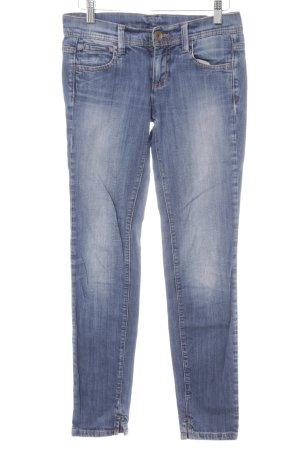 Benetton Jeans Skinny Jeans stahlblau Casual-Look