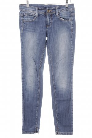 Benetton Jeans Skinny Jeans stahlblau Casual-Look