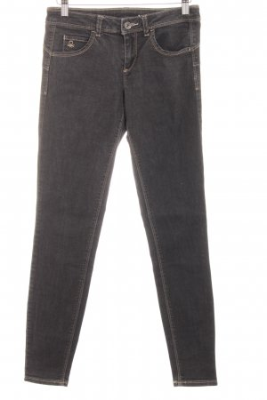 Benetton Jeans Vaquero skinny taupe look casual
