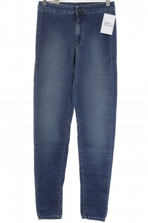 Benetton Jeans Vaquero slim azul look casual