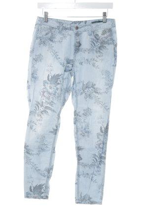 Benetton Jeans Stoffen broek bloemenprint casual uitstraling