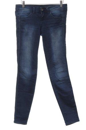 Benetton Jeans Stretch Jeans dunkelblau Jeans-Optik