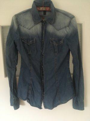 Benetton jeanshemd