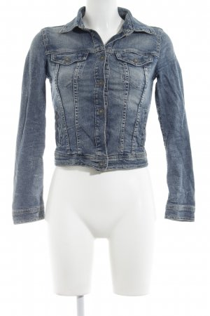 Benetton Jeansjacke blau Casual-Look