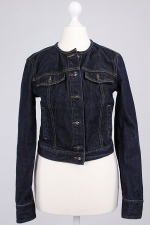 Benetton jeansjacke dark blue