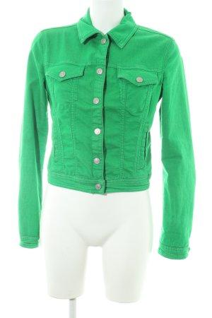 Benetton Spijkerjack groen casual uitstraling