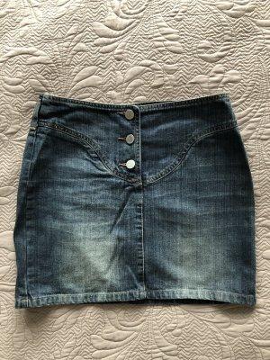 Benetton Denim Skirt blue