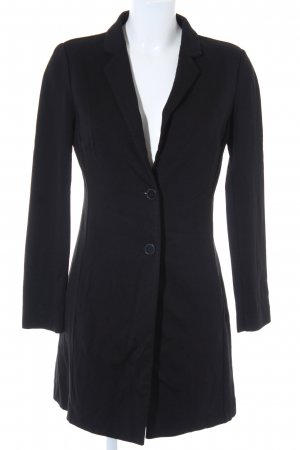 Benetton Jerseyblazer schwarz Business-Look