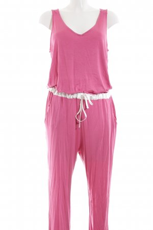 Benetton Jumpsuit pink Casual-Look