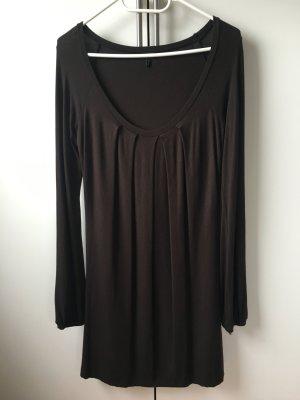 Benetton Longsleeve Dress dark brown
