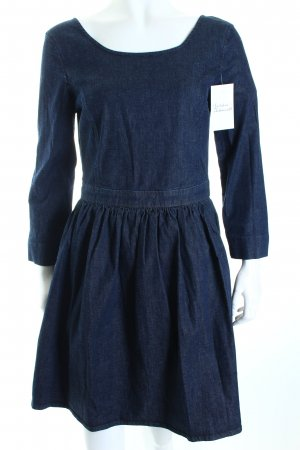 Benetton Kleid dunkelblau Casual-Look
