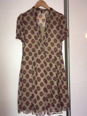Benetton Kleid mit Blümchen