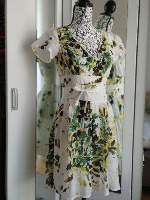 Benetton Dress multicolored cotton