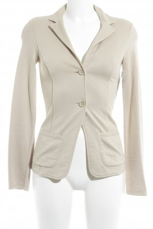 Benetton Kurz-Blazer beige Casual-Look