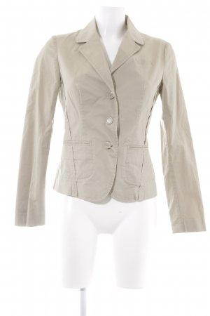 Benetton Kurz-Blazer creme-beige Business-Look
