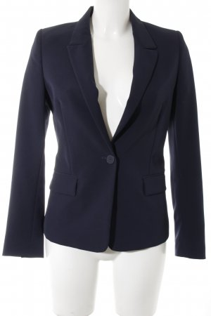 Benetton Kurz-Blazer dunkelblau Business-Look