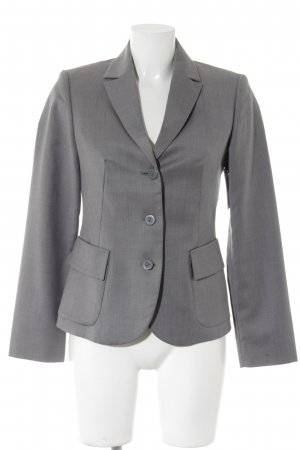 Benetton Kurz-Blazer grau Business-Look