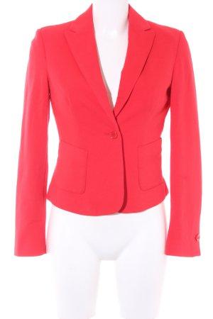 Benetton Korte blazer rood minimalistische stijl