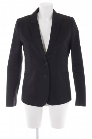Benetton Kurz-Blazer schwarz Business-Look