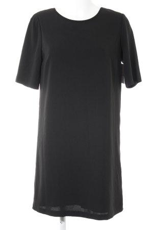 Benetton Kurzarmkleid schwarz Elegant