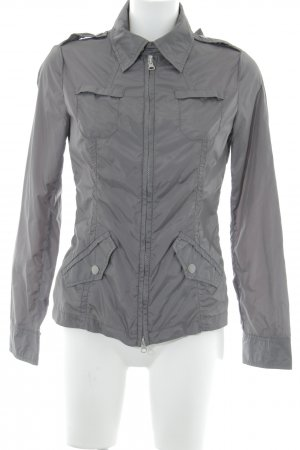 Benetton Kurzjacke grau Casual-Look