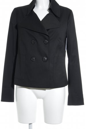 Benetton Kurzjacke schwarz Casual-Look