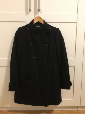 Benetton Coat black