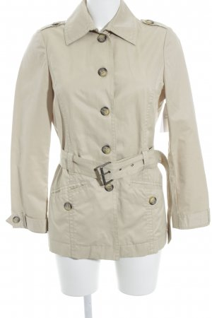 Benetton Kurzmantel sandbraun Casual-Look