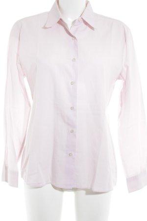 Benetton Langarm-Bluse rosé Casual-Look