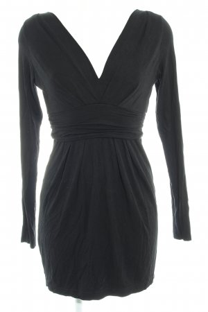 Benetton Langarmkleid schwarz Casual-Look