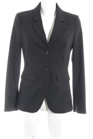 Benetton Long Blazer black business style