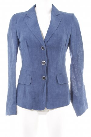 Benetton Long-Blazer stahlblau Casual-Look