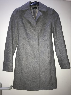 Benetton Wool Coat dark grey